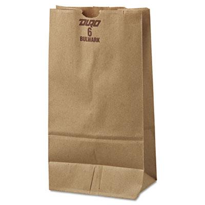 500/bl #6 50# Kraft X-HD;Kraft Grocery Bag