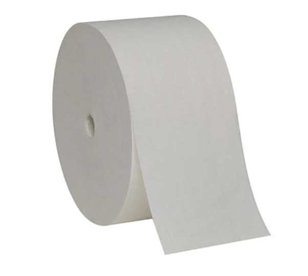Coreless 2-Ply Toilet Paper Rolls