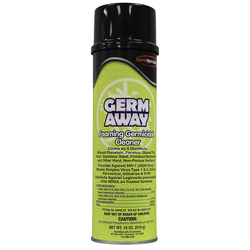 GERM AWAY Foaming Germicidal Disinfectant Cleaner