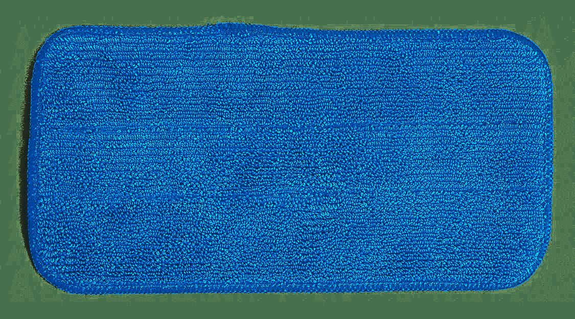 MicroWorks Flat Blue Microfiber Pad
