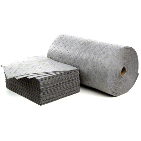 "30""x150' Recy. Absorbent;Gray RL Spunbound Dbl Wt"