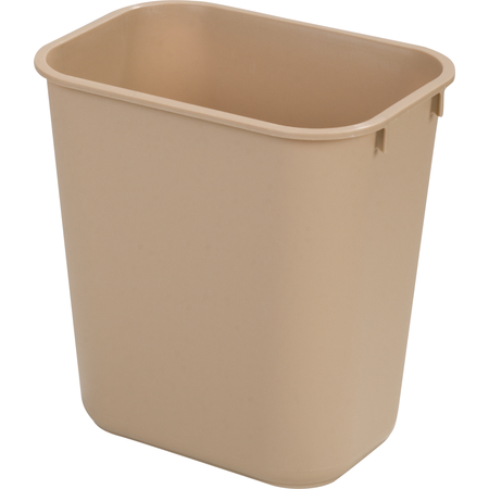 Small Rectangle Office Wastebasket Trash Can