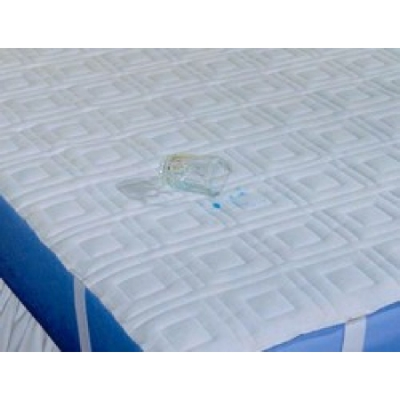 39x75 Dignity Waterproof Quilted Sheeting White