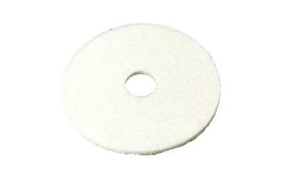 3M™ White Super Polish Pad 4100, 17 in, 5/case