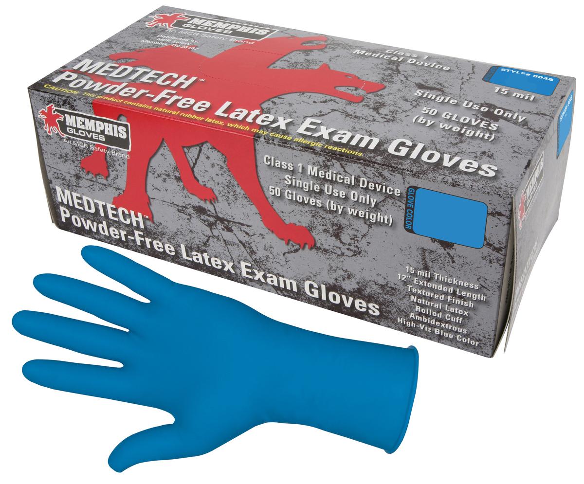 MedTech 12 Inch Exam Gloves, Medical Grade