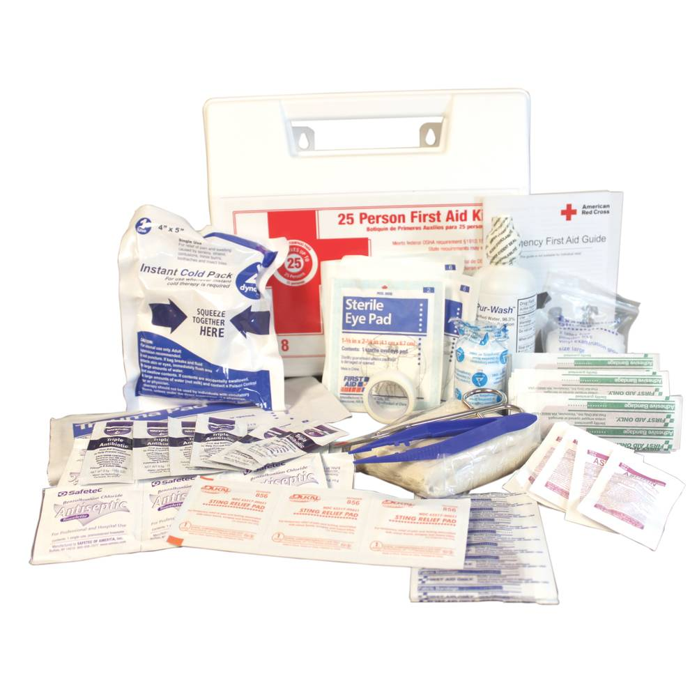 Pro-Guard® First Aid Kit, 25 Person