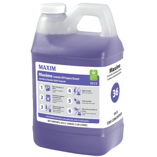 #36 Maximo AP Lavender Cleaner, 4/64oz