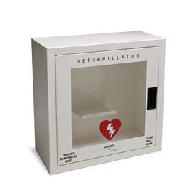 Allegro® AED White Steel Defibrillator Cabinet