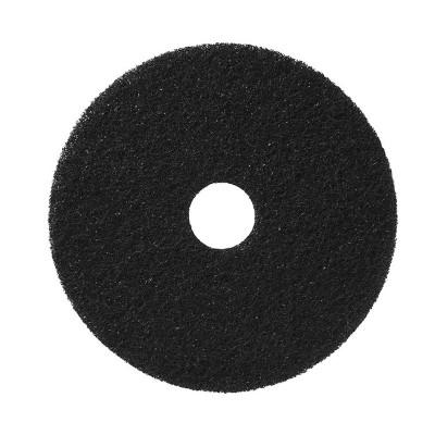 "10"" Black Stripping Floor Pads 5/cs"