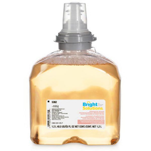 Bright Solutions® Premium Foam Antibacterial Handwash, 2/1200ml