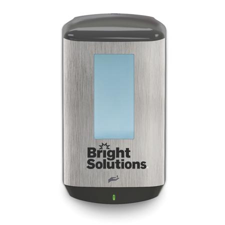 1200ml Bright Solutions® CB6 Healthy Soap Dispenser, Brush Metallic/Black