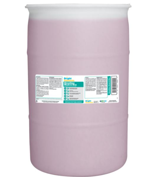 Bright Solutions Showtime Wash & Wax - 55 Gal. ea