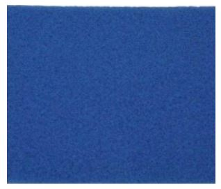 blue spacer pads or;med blue heavy buffing