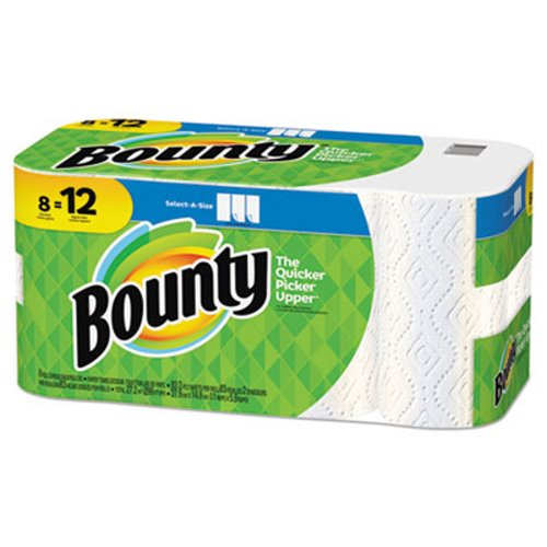 11x5.9 White Paper Towels Perf Roll, 8/pk 83Sht