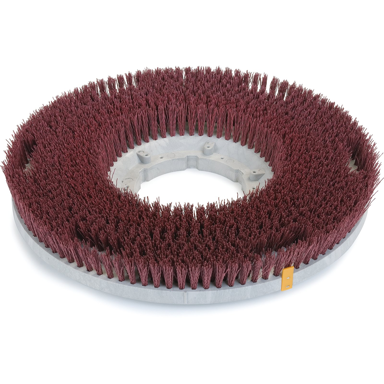 """18"""" Colortech Red Rotary Grit Brush"""