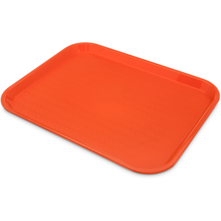 "14""x18"" Fast Food Cafeteria Tray, Orange"