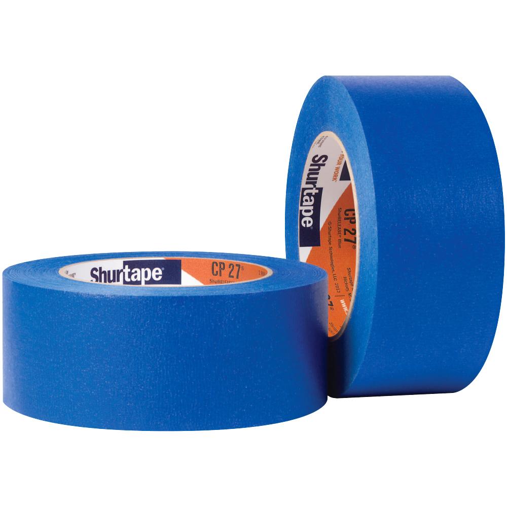 1.5 x 60yd CP 27 Masking Tape, Blue, 24/cs