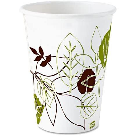 20/50 8oz Dixie Pathways Paper Hot Cups