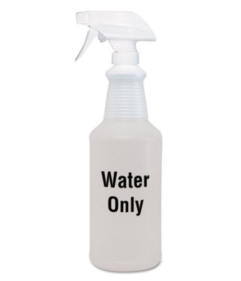 water only spray bottle