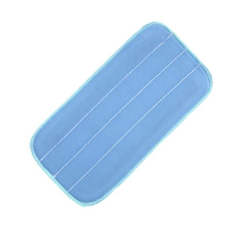 Flat blue microfiber pad
