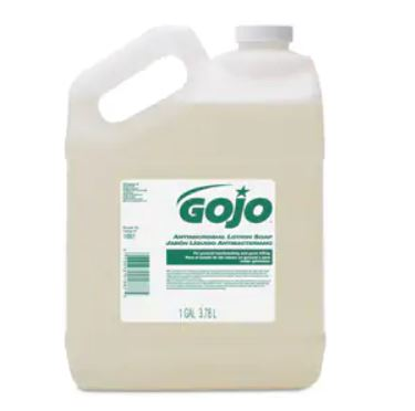 GOJO® Antimicrobial Lotion Soap - 1 Gal. 4/cs