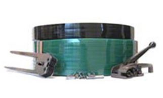 1/2x6500 .028 820# Green;PET Poly Strapping 16x6