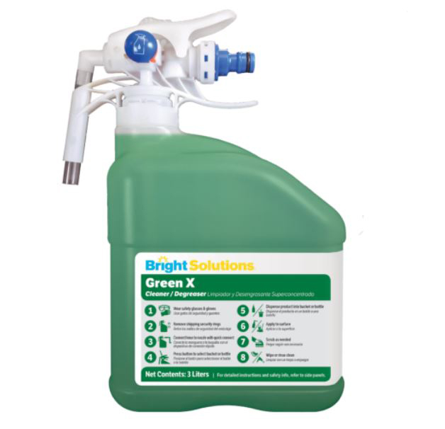 2/3L EDS Green X Cleaner Degreaser (Conc)