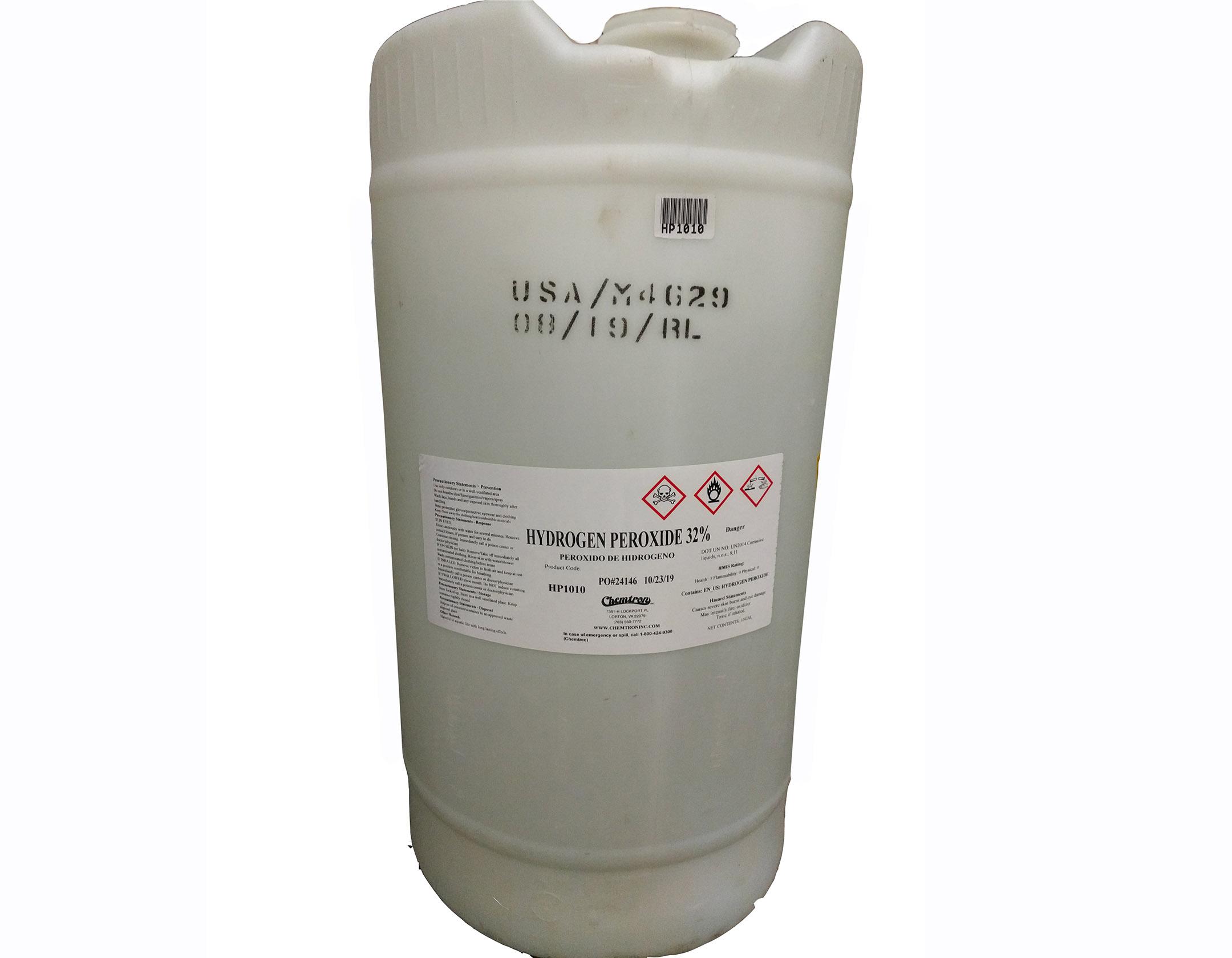 15 gallon Hydrogen Peroxide