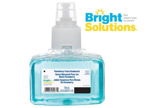 Bright Solutions® Pomeberry Foam Handwash Refill for LTX-7™ Dispenser, 3/700ml