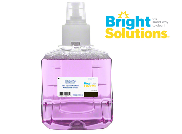 Bright Solutions® Antibacterial Plum Foam Handwash Refill for LTX-12™ Dispenser, 2/1200ml