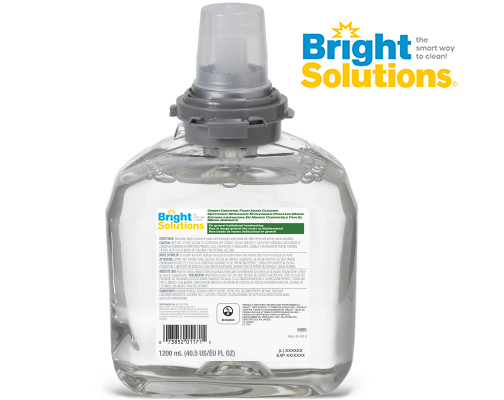 Bright Solutions® Green Certified Foam Hand Cleaner Refill for TFX™ Dispenser, 2/1200ml
