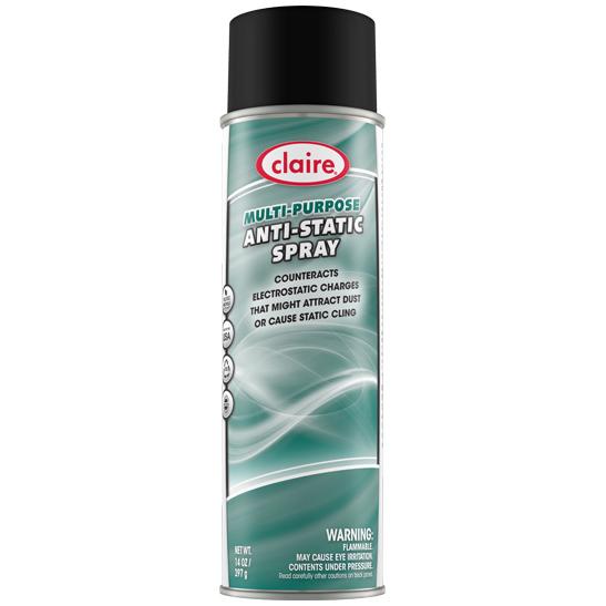 S/o12/cs 20oz Multi Purp Anti Static Spray