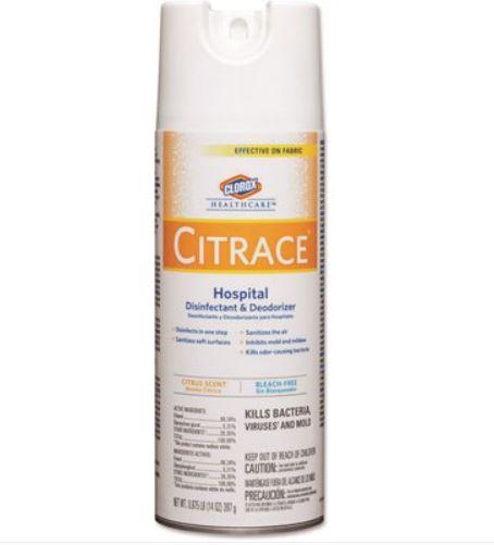 12/14oz Citrace Hospital Disinfectant & Deodorizer