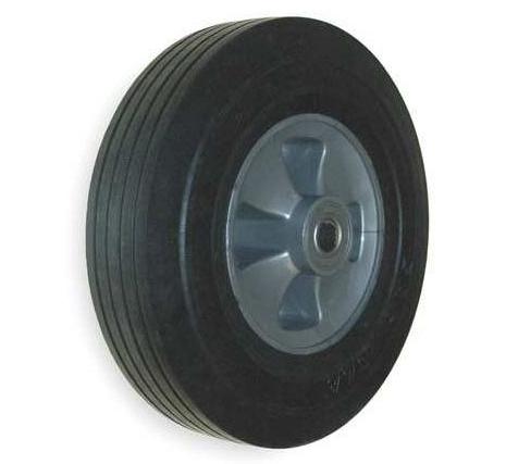"Replacement Black 10"" Tilt Truck Wheel"