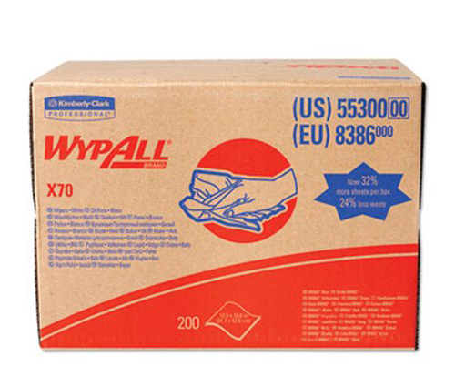 Wypall X70 Heavy Duty Wipers Brag Box