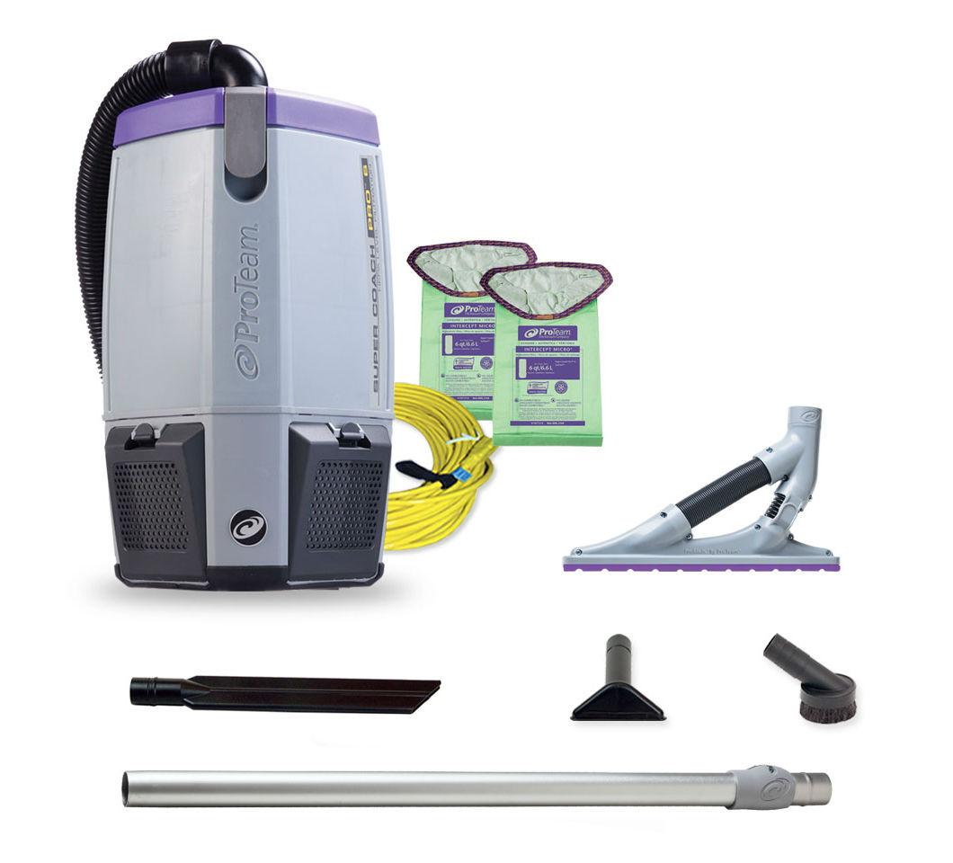 Pro6 back pack w/ 107530;carpet tool kit