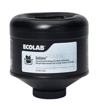 Ecolab[R] Solitaire[R] - 4/5 lb.. 4/cs