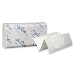 GP Signature® White 2-Ply Premium Multifold Paper Towels, 16/125