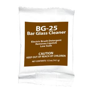 BG-25 Bar Glass Cleaner;