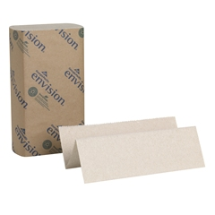 GP Envision® Brown Multifold Paper Towels, 16/250