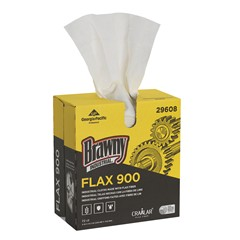 10/72 Brawny Indust Flax 900 HD Wiper Wht EPP