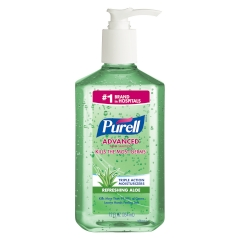 PURELL® Advanced Hand Sanitizer Aloe Gel 12oz. Table-top Pump Bottle