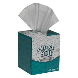 S/o 36/96 Angel Soft PS Wht Facial Tissue Cube
