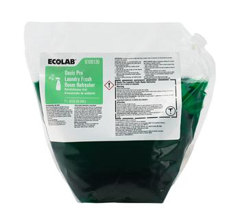 Ecolab[R] Oasis Pro[TM] Laundry Fresh Room Refresher - 2 L. 2/cs