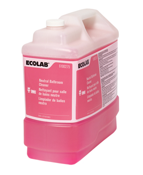 Ecolab[R] Neutral Bathroom Cleaner - 2.5 Gal.. ea