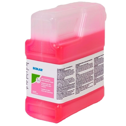 Ecolab[R] QC[TM] 91 Neutral Bathroom Cleaner - 1.3 L. 2/cs
