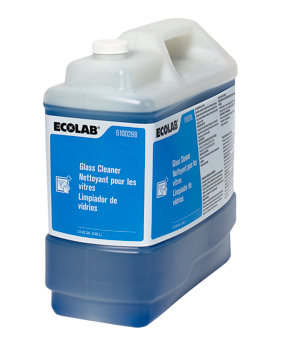 Ecolab[R] Glass Cleaner - 2.5 Gal.. ea
