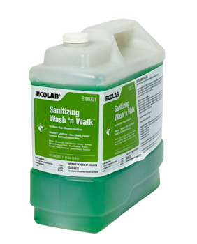 2.5G SANITIZING WASH 'N WALK DRAIN/FLOOR CLEANER