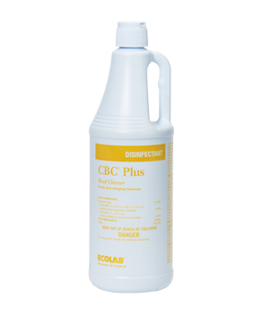 Ecolab[R] CBC Plus Bowl Cleaner - 32 oz.. 12/cs