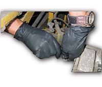 Impact[R] ProGuard[R] Nitrile General Purpose Glove - Medium. 10/100/cs